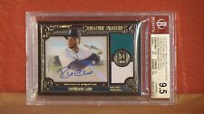 2016 Topps Museum Collection Relic Robinson Cano Autograph Card BGS 9.5 Auto 10.