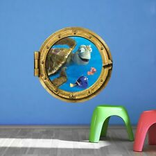 Buscando A Nemo 3D Ventana Submarino Vinilos Adhesivos De Pared Mural Hogar