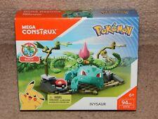 New! Pokemon Mega Construx Ivysaur 94 Pcs Dyf13 Playset Free Shipping 6+