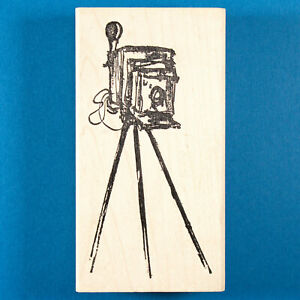 Old Fashioned Camera Rubber Stamp by Art Impressions - Antique / Vintage Camera