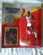 1991 MICHAEL JORDAN Kenner Starting Lineup Special Edition with Coin