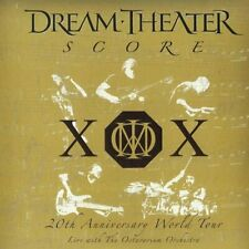 DREAM THEATER - SCORE - 4LP BLACK VINYL NEW SEALED 2014 - 180 GRAM