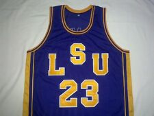 PETE MARAVICH LSU Tigers Purple Basketball Jersey Gift Any Size