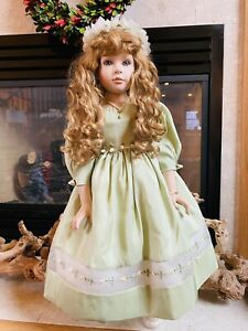 Marie Osmond Doll. Fine Porcelain Collector Doll  Rosemary Limited.