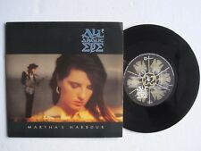 """ALL ABOUT EVE - MARTH'S HARBOUR - 7"""" 45 rpm vinyl record"""