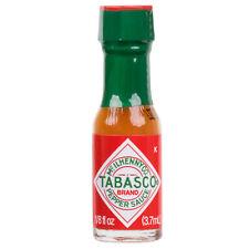 TABASCO .125 oz. Original Hot Sauce Mini Bottles (select quantity)