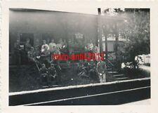 5 x foto, i.r.105, recuerdos, músicos, en camino en Sajonia (n) 19362