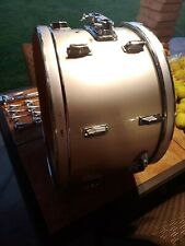 Pearl 60s Vintage 15x22 Bass Drum Shell Original silver Pearl. Project.