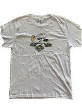 Mr Scruff T-Shirt, White Mens Size Medium