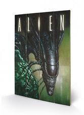 Aliens Holzdruck Creep 40 x 60 cm NEU & OVP