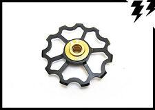 """1x MT ZOOM BLACK Ultralight Jockey """"Speed"""" Wheel/Derailleur Pulley 5.6g!"""