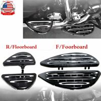 Billet Front Rear Floorboards Foot Pegs For Harley Touring Road Electra Glide US