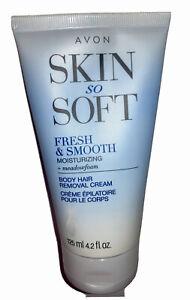 Avon Skin So Soft Fresh & Smooth Moisturizing Skin Body Hair Removal Cream