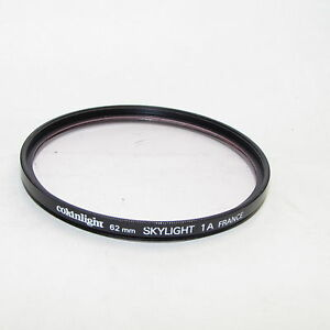 Genuine Cokinlight Skylight 1A 62mm Lens Filter Made in France S940454