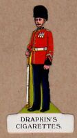 The Royal Fusiliers 1914 Drapkin Soldiers & their Uniforms, die-cut