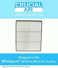 REPL Whirlpool / Whispure AP450 AP510 1183054 1183054K HEPA Air Purifier Filter