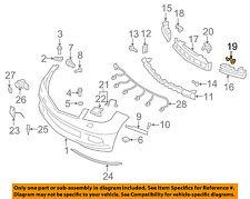 MERCEDES OEM 08-14 C300 Front Bumper-Energy Absorber Bracket Left 2048852114