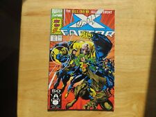 1991 VINTAGE MARVEL COMICS X-FACTOR # 71, NEW TEAM SIGNED BY PETER DAVID, POA