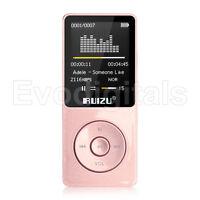 NEW EVO RUIZU ROSE PINK 72GB LOSSLESS MP3 MP4 PLAYER MUSIC VIDEO FM TUNER