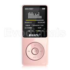 NEW EVO RUIZU ROSE PINK 8GB LOSSLESS MP3 MP4 PLAYER MUSIC VIDEO FM TUNER