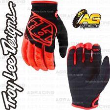 Troy Lee Designs GP Race Youth Kids Gloves Orange Black Motocross Enduo Quad ATV