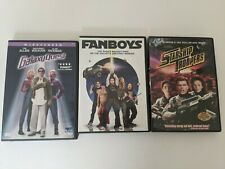 Galaxy Quest & Fanboys, Starship Troopers Dvd Widescreen Sci Fi Comedy Tim Allen