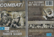 COMBAT! Complete 4th Season * NEW & SEALED * 8-DVD Set Region 0 (Plays on ANY Pl