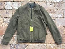 $1360.00 Italy Etro Men's Reversible Camo Print Bomber Jacket, Green / Biege Med