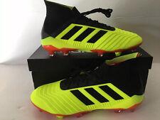 Adidas Predator 18.1 Fg Mens Soccer Cleats Primeknit Size 10.5
