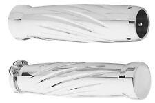 Arlen Ness - M-1004 - Billet Grips, Twister - Chrome