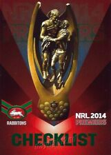 ✺Mint✺ 2014 SOUTH SYDNEY RABBITOHS NRL Premiers Card