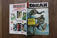 SUPER CONAN N°3/GRAND FORMAT/LAFORET TENEBREUSE/1985/MON JOURNAL/BE
