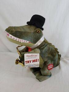 "Chantilly Lane ""See Ya Later Alligator"", Animated Dancing Musical Crocodile Doll"
