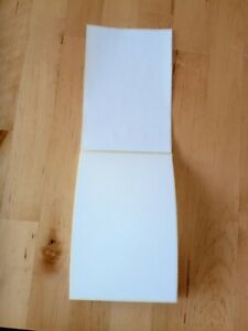 """Large White Sticky Self Adhesive Parcel Direct Thermal Labels 150 x 100mm 6 x 4"""""""