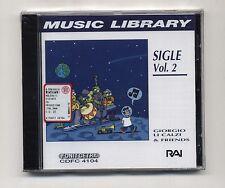 Cd GIORGIO LI CALZI & friends Sigle Vol 2 –  RAI NUOVO 1997 Music library Volume