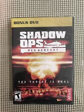 Shadow Ops Red Mercury : The Threat Is Real, Bonus Dvd, Brand New, Sealed, Rare