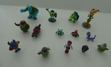14  MONSTERS INC HIGH SCHOOL FIGURES  MIKE, SULLY, BOO - cake toppers    DISNEY