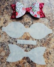 Beautiful 4 Inch Standard Hairbow Template- Make Your Own Bows