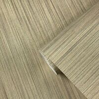 Vinyl Wallpaper gold Textured Plain faux grasscloth pattern wallcoverings rolls