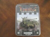 Tanks WWII Tank Skirmish Miniatures Game Sherman Tank Expansion - Gale Force 9
