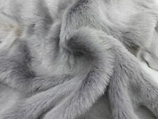 sheepskin leather fur hide Grey Toscana long hair w/suede back