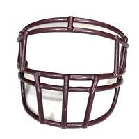 Schutt Super Pro EGOP Maroon - Crimson Adult Football Helmet Facemask NOS