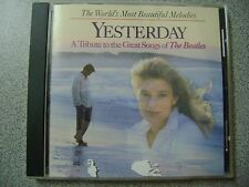 CD  - YESTERDAY - A tribute to the greatest songs of the Beatles