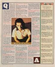 Nick Cave Interview/article 1994