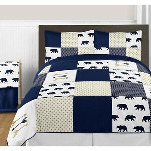NEW 3PC Sweet Jojo Big Bear Adults Teen Full Queen Bedding Comforter Set