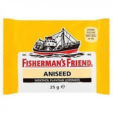 Fishermans Friend Aniseed Menthol Flavour Lozenges 25 - 6 Pack