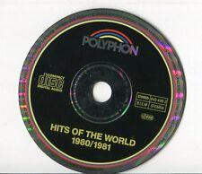 Polyphon cd sampler HITS 1980/81  ABBA Visage KOOL & THE GANG Status Quo STYX