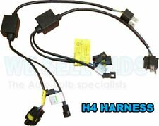 H4 HI LOW H4-3 RELAY WIRING HARNES XENON HID CONVERSION KIT SINGLE CANBUS ERROR