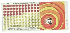 1971 Club Di Topolino - Tessera Gouverneur + Carte de Collection Points