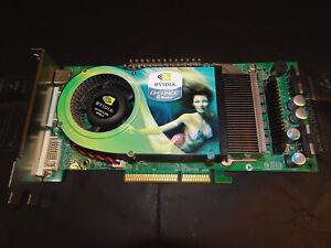 Nvidia NX6800u T2D256. AGP 8x. GDDR3 256mb. Vintage Video Card.